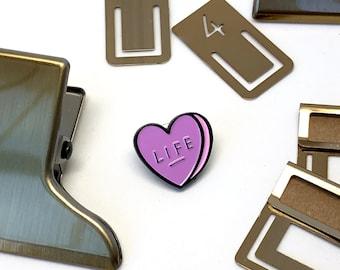 Love Life Enamel Pin, Creative Life, Mom Life, Nurse Life, Makers Life, Paper Life, Gift Idea for Her