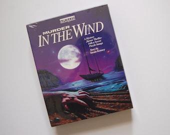 Vintage Puzzle BePuzzled Murder In The Wind, Mystery Murder Jigsaw Puzzle, Murderino Gift