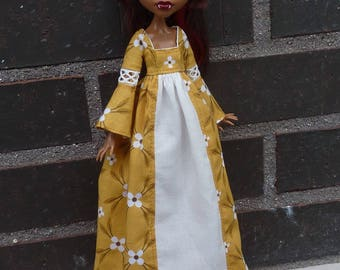 Long dress for Monster High dolls.