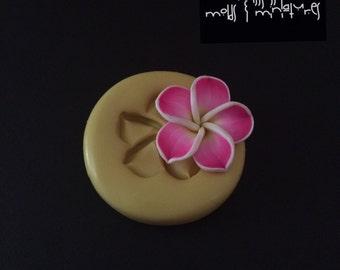 Plumeria Flower Silicone Mold
