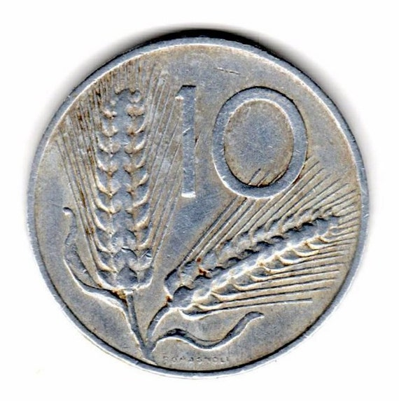 1952 ITALIAN 10 LIRE & 1950 Nederlanden 10 piece