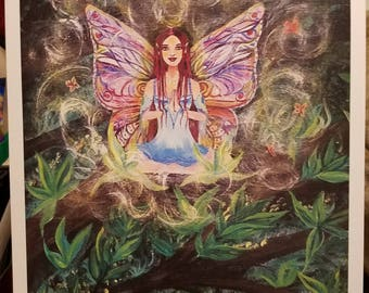 Butterfly Winged Fairy