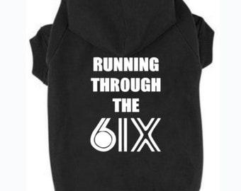 Running Through the 6ix Cotton Hoodie