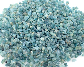 Grandidierite rough stones from Madagascar - 4-10mm - choose quantity - blue natural raw stone crystal structure minerals