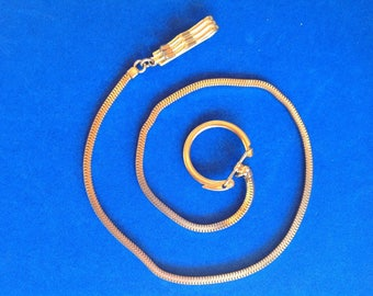 Vintage! Gold tone watch or key chain. Ex. Condition