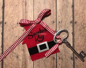 Santa's Key Ornament
