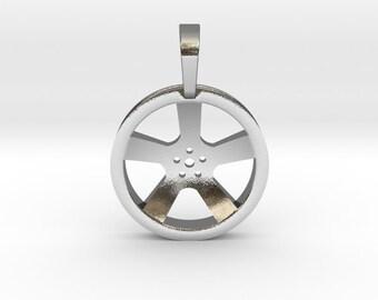 Car Wheel Pendant | Automotive Jewelry Charms & Pendants
