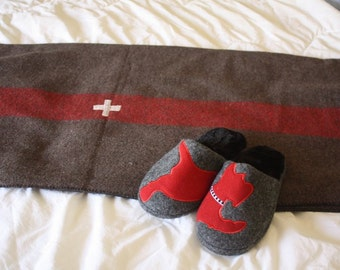 Swiss Army Wool Blanket Replica // Outdoor Wool Blanket