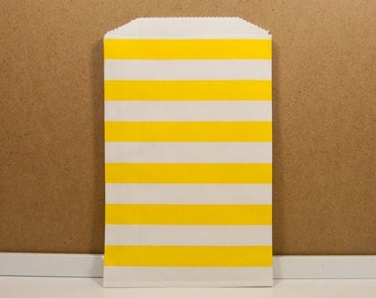 Horizontal Middy Bitty Bags - Yellow