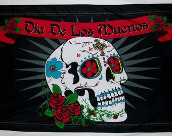 Day of the Dead Flag Banner