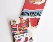 Montreal Hockey Notebooks Set of 2.  Avril Loreti Exclusive Prints. Fun, Bright, Bold prints. Great for Birthdays and Holidays.
