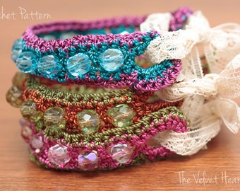 Jewelry Tutorial, Beaded Jewelry Pattern, Bead Bracelet Pattern,  Bead Crochet Bracelet, Crochet Jewelry Tutorial, Crochet With Beads (26)