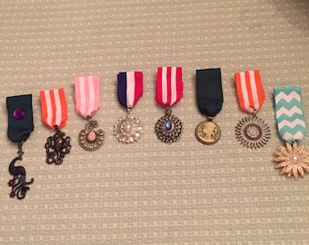 Steampunk Costume Medals
