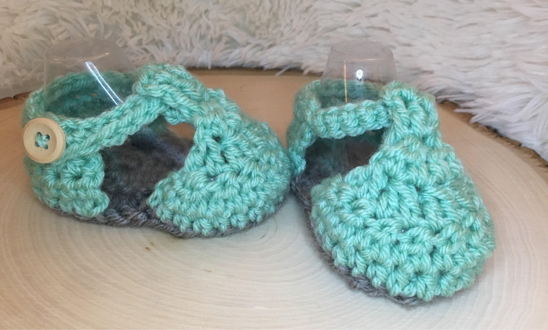 Crochet Baby sandals baby girl sandals baby girl shoes girl