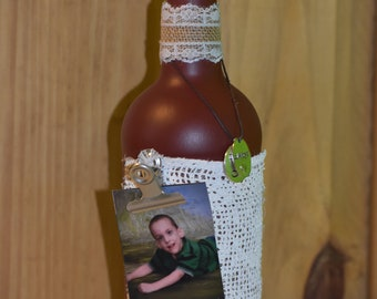 Decorative Picture frame Glass Bottle