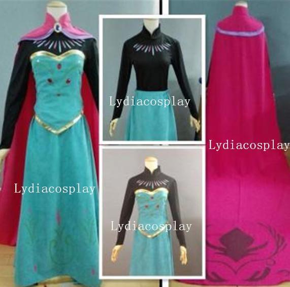 ?zoom & Handmade Elsa Coronation Dress Elsa Dress Elsa Coronation
