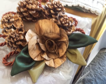 Christmas decoration, centerpiece, Christmas wreath