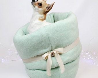 SACCONANNA Turquoise Tiffany Kennel | Sleeping Bag Kennel-Turquoise