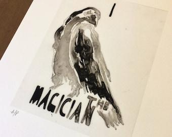 I - The Magician (raven)