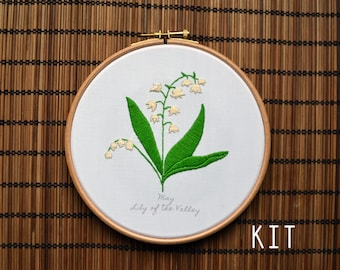 Birth Flower Kits: May Lily of the Valley