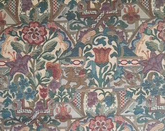 Floral Tapestry Upholstery Fabric