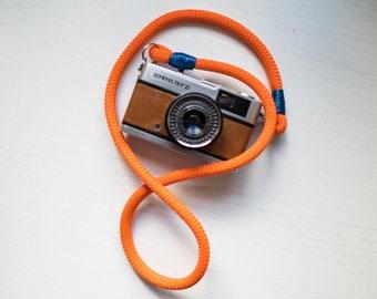 Tracolla fotocamera in corda morbida universale cinghia macchina fotografica laccio strap per reflex mirrorless canon nikon sony fuji olympu
