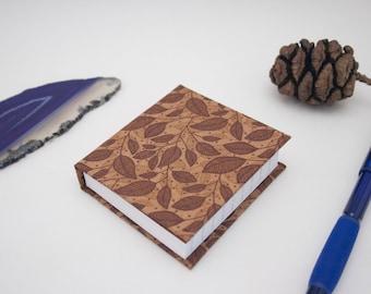Mini Book Leaves Mini Notebook Casebound Small Nature Journal