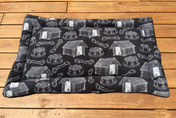 XL Dog Bed, Big Puppy Bedding, Plush Pet Pad, Dog Kennel Bed, Puppy Bedding, Crate Pad, Couch Cover, Fits 30x48 Kennel