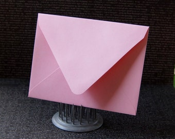 """10 Pointed Flap A2 Envelopes in Blossom (light pink) .  4 3/8"""" x 5 3/4"""