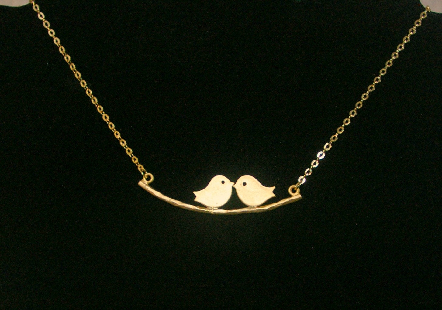 branch products love tree birds kissing family avec on gold dainty birthday the bird necklace