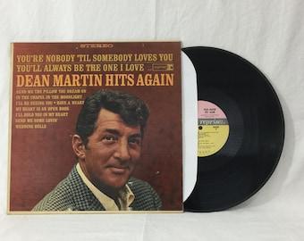 Dean Martin Hits Again Vintage Vinyl Record Album 33 rpm lp 1965 Reprise Records RS-6146