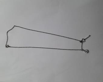 Elegant chain with two charms