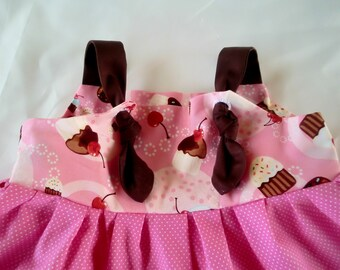 CUPCAKES IN PINK Knot Dress
