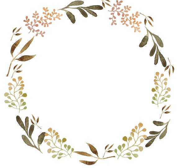 Adaptable image with regard to wreath printable