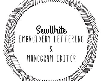SewWrite Embroidery Software | Instant Download