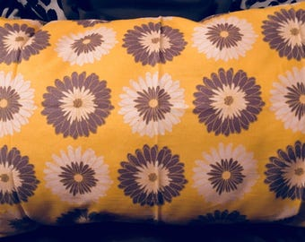 Sunny Day Flowers Pillow