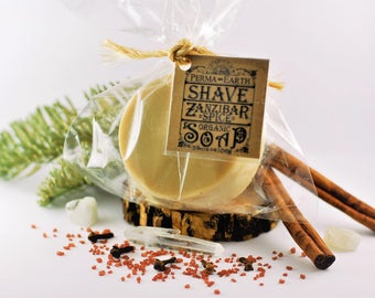 Shaving Soap - Shave Soap - Smooth Shaving - Shea Butter - Body Soap - Detoxify - Men's Shaving Soap - Shaving - Shave - Coconut Oil