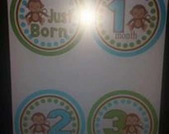 Monkey Milestones - JustBorn-12mths DIY PDF