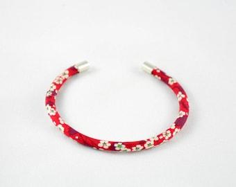 Red Liberty Mitsi Valeria Bangle Bracelet