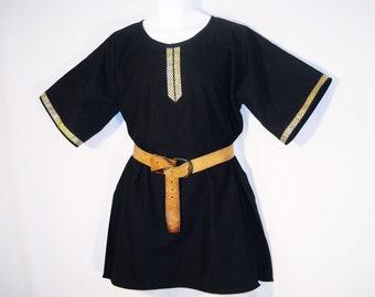 Sz M/L Medieval Cotton Norman, Saxon, or Viking Tunic SCA, LARP
