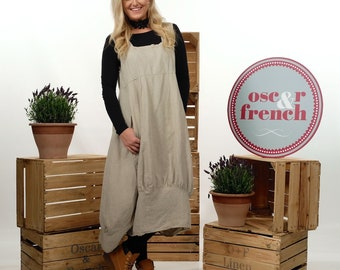 Linen LAGENLOOK Dress, Loose Dress, Oversized Tunic, Linen Tunic Dress, Women's Linen Dress, Linen Tunic, Dress With Pockets