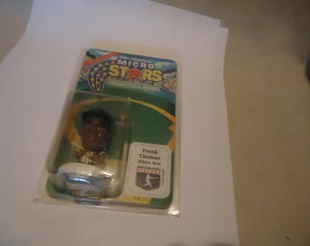 Vintage 1995 The Original Micro Stars Frank Thomas White Sox  In Sealed Package, collectable