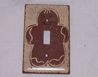 Gingerbread light switch cover FREE SHIPPING