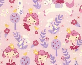 Patchwork Princess pink Timeless treasures fabric