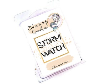 Parasoy Wax Melt Clamshell- Storm Watch