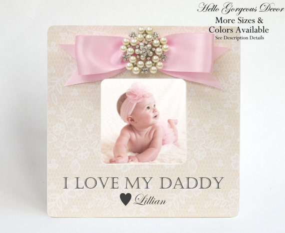 Father\'s Day Gift from Daughter Picture Frame Personalized to Dad ...