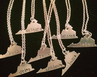 Home Sweet Virginia necklace