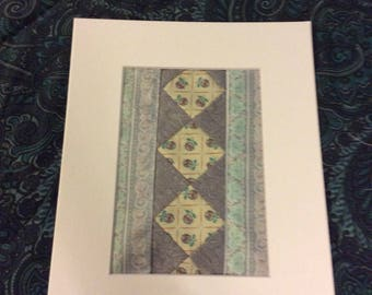 Quilt art - ready to frame