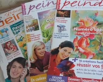 magazine pleasure of painting set of 3
