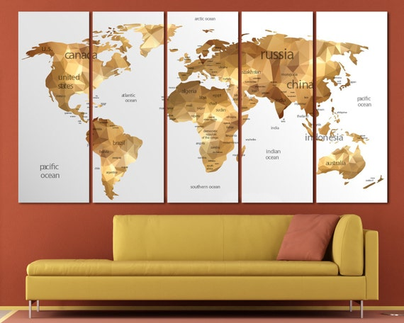 Gold world map wall art large gold world map print gold wall gold world map wall art large gold world map print gold wall map canvas gold world map art gold map canvas gold map wall art gold map art sciox Gallery